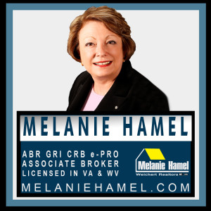 Melanie Hamel, Realtor.  Serving Front Royal and the Shenandoah Valley, Virginia.